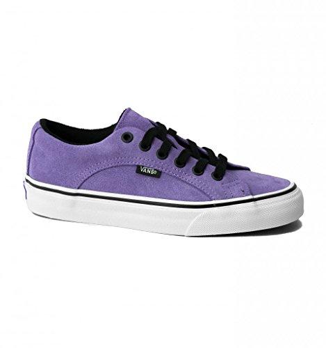 Vans Lampin Mens 11 Suede Montana Grape True White Purple Skate Shoe (Skateboard Purple Shoe)