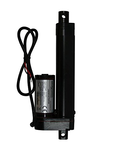 WINDYNATION 4 Inch 4 Stroke Linear Actuator 12 Volt 12V 225 Pounds lbs Maximum Lift