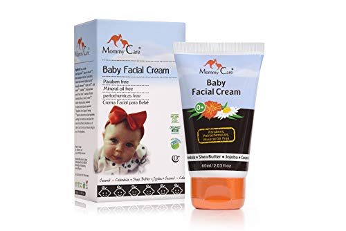 Complete Hydra Eye - Baby Face Cream Mommy Care Organic Protective and Soothing Baby Facial Cream to Hydrate and moisturize Newborns Sensitive Skin. Helps Protect Against Dry Skin & The Effects of Weather & Wind. 2.03 OZ