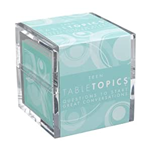 TABLETOPICS Teen: Questions to Start Great Conversations
