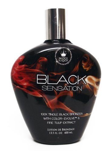 Black Sugar BLACK SENSATION 100X Tingle Black Bronzer - 13.5 oz. (Bronzer Tingle)