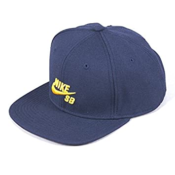 705a1272 ... low cost nike sb skateboarding icon snapback hat everyday trucker style  sports cap squadron blue midas ...