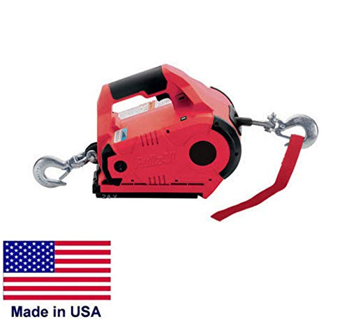 Streamline Industrial WINCH Portable - Hand Held - 1,000 Lb Capacity - 24 Volt DC - Variable Speed