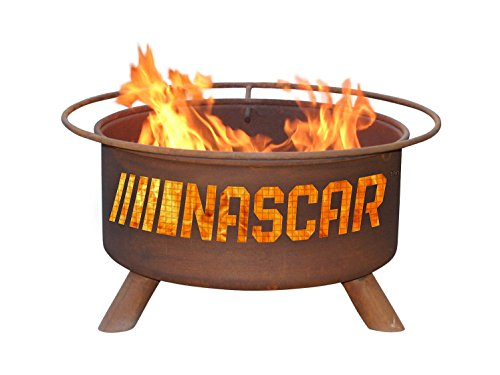 Patina Products Nascar Fire Pit, Rust (Patina Outdoor Fire Pit)