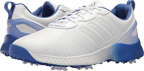 adidas Women's W Response Bounce Golf Shoe, FTWR White/hi-res Blue, 9 Medium US