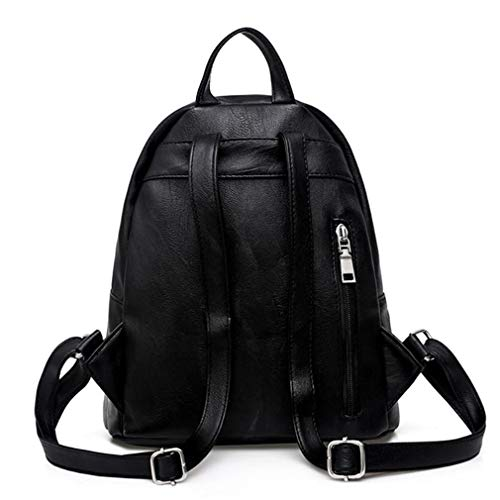 Girls Bag Backpacks Women Bags School Pu Shoulder Causal For Female Fashion Leather SIwxwpCFnq