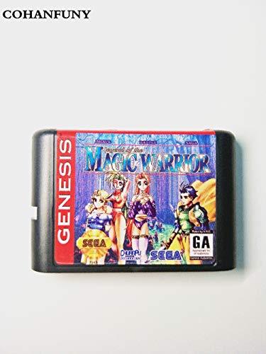 (Value-Smart-Toys - Brave Battle Sage Legend Magic Warrior bit MD Game Card For Sega Mega Drive For Genesis)