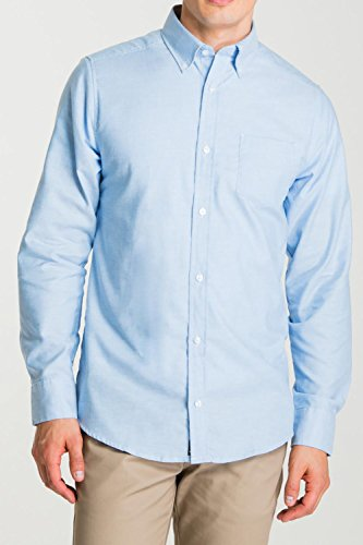 lee-uniforms-mens-long-sleeve-oxford-shirt-light-blue-small
