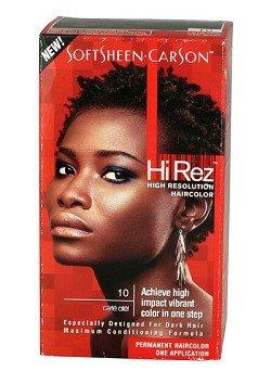 Hi Rez Hair Color - Softsheen Carson Hi Rez 10 Cafe Ole'