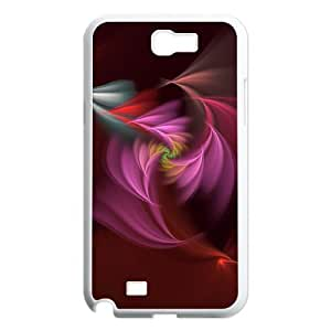 Samsung Galaxy Note 2 N7100 Around the curve Phone Back Case Custom Art Print Design Hard Shell Protection HB053998