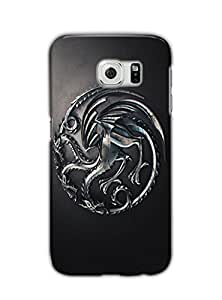 Tomhousomick Custom Design A Song Of Ice And Fire : Game of Thrones Case Cover for Samsung Galaxy S6 2015 Hot New Style