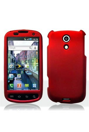 Rubber Feel Snap-On Cover Hard Case Cell Phone Protector for Samsung Galaxy S Epic (Epic 4g Cell Phone)