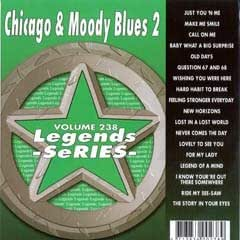 Legends Karaoke Volume 238 - Hits Of Chicago & The Moody Blues (CD+G)