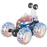 LIB101 Invincible Tornado - Remote Control Turbo Twister RC Stunt Car with Lights and Sound