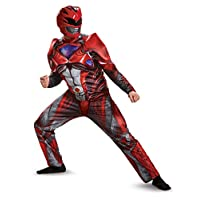 Disfraz Disfraz de musculoso rojo para hombre, Disfraz de adulto, Medio