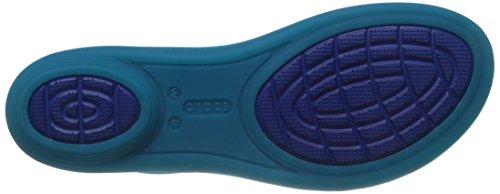 Turquoise Women's Isabella Blue Jelly Cerulean Crocs Sandal 6ZIpqqw