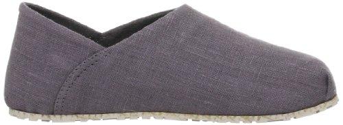 OTZ Shoes 300-GMS - Mocasines de lona para hombre Beige beige gris - Gray