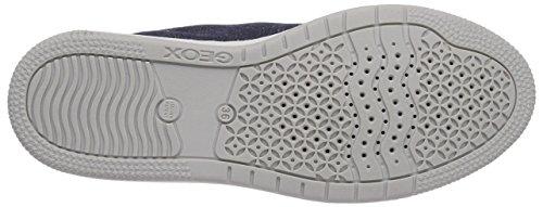 Geox JR CREAMY G - zapatilla deportiva de lona niña azul - Blau (JEANSC4001)