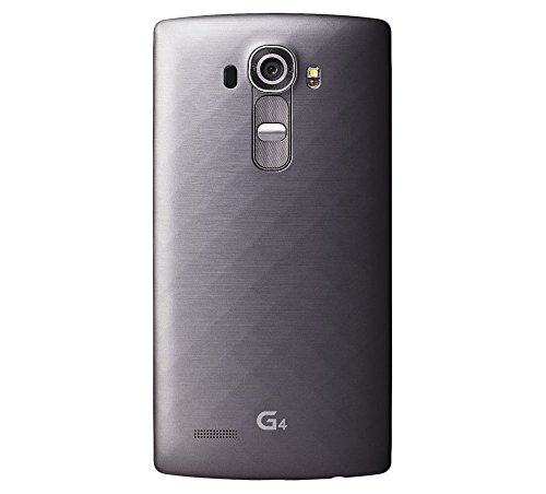 LG G4 H815 32GB Unlocked GSM Hexa-Core Android 5.1 Smartphone - Titan Gray - International Version No Warranty