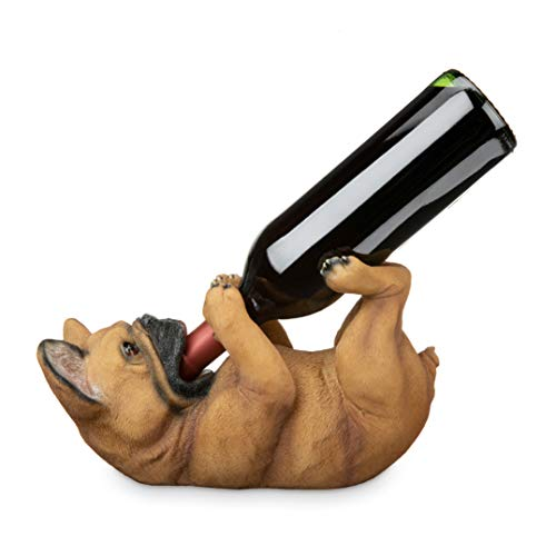 True French Bulldog Wine Bottle Holder, One Size,
