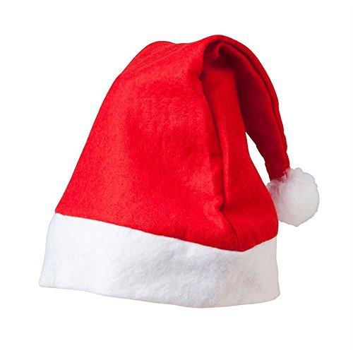 Hapros Classic Felt Santa hat (6 Pack) -