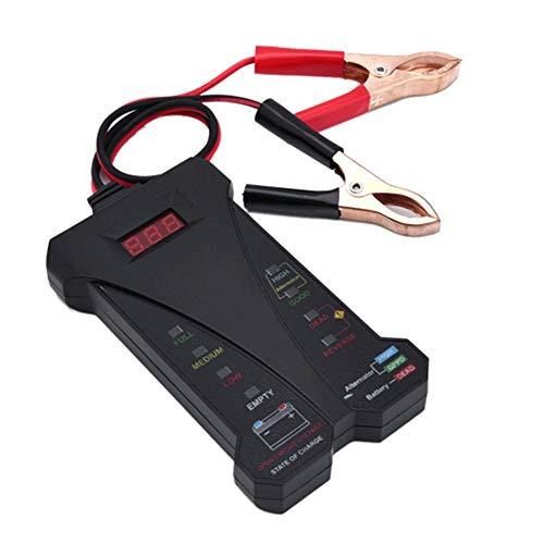 TERMALY Car Battery Tester Digital,Car Battery Tester Analyzer,Car Battery Testers Battery Checker,Car Battery Reset Tool,Battery battery tester, check battery life, 12V voltage tester,A: Amazon.co.uk: Garden & Outdoors