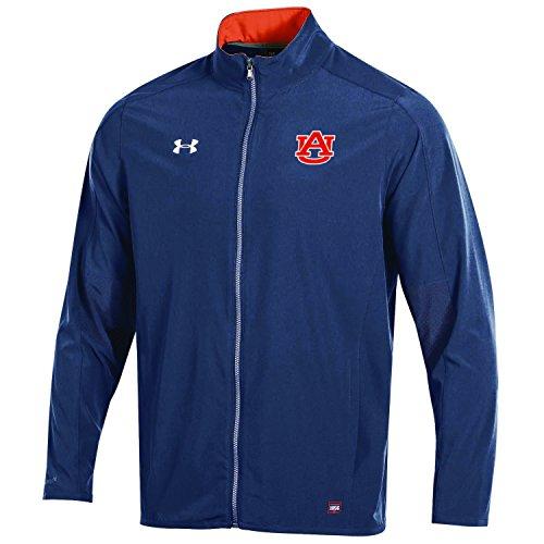 Under Armour NCAA Auburn Tigers Adult Men NCAA Men's Sideline Warm Up Jacket, Medium, Navy