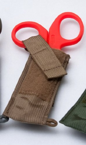 Trauma Shear Holster MOLLE--Coyote Brown