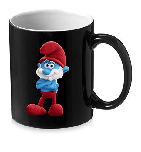 (Manglam Mart Christmas Coffee Mugs- Papa Smurf Coffee Mugs | Ceramic 325 Ml Coffee Mug | Christmas Special)