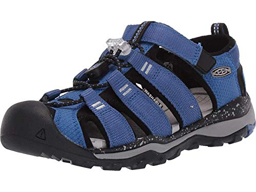 Keen Kids Boy's Newport Neo H2 (Little Kid/Big Kid) Galaxy Blue/Paloma 4 M US Big Kid