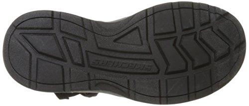 Skechers Sport Heren Outdoor Verstelbare Visser Sandaal, Zwart / Houtskool, 10 M Us