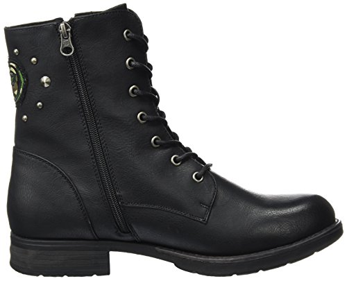 Tom 3795615 Tailor Femme Bottes Rangers black Noir r7rA1Bwx