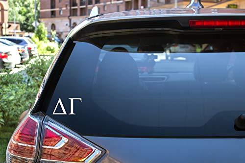 Delta Gamma Sticker Greek Sorority Decal for Car, Laptop, Windows, Officially Licensed Product, Monogram Design 2.5