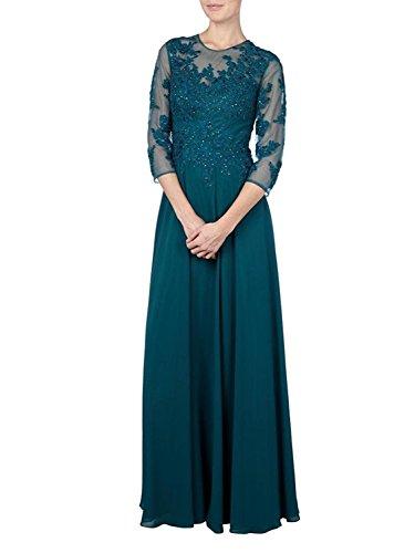 Rock mia Braut Ballkleider A La Jaeger Gruen Linie Langarm Promkleider Brautmutterkleider Abendkleider Elegant Fesltichkleider Spitze Cqxfd7w