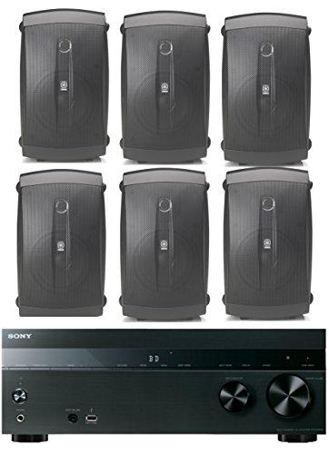 Sony-52-Channel-725-Watt-4K-AV-Home-Theater-Receiver-Yamaha-High-Performance-Natural-Surround-Sound-2-Way-120-watts-IndoorOutdoor-Weatherproof-Speaker-System-Set-Of-6