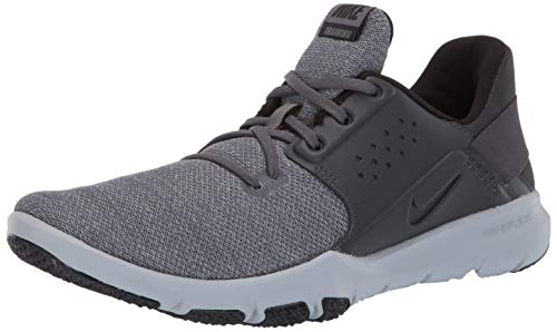Nike Men's Flex Control TR3 Wide Sneaker, Anthracite-Black, 9.5 US