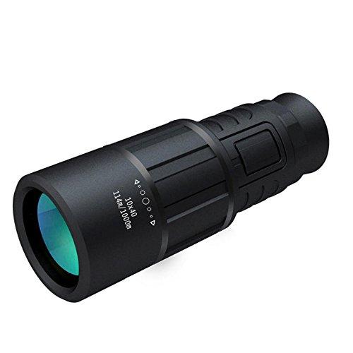 Scope Telephone - 10x40 Monocular Telescope Mobile Phone Stand Traveler Handy Optic Lens Eyepiece - Earpiece Set Earphone Call Headphone Speech - 1PCs