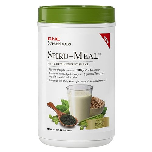 Amazon.com: GNC Superfoods spiru-meal, vainilla, 1,94 Lb ...