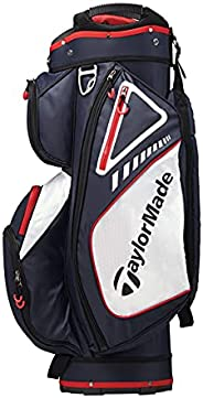 TaylorMade Select ST Cart Bag, Navy/White/Red