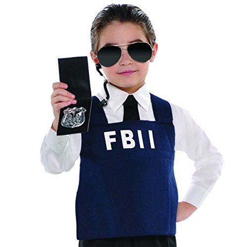 Fbi Agent Kit (Child) (Fbi Agent Womens Costume)