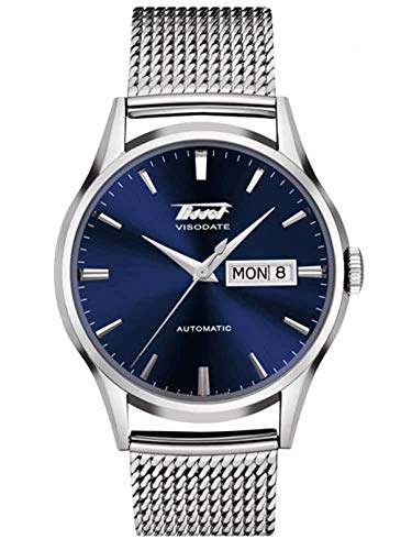 Tissot Men's Automatic Stainless Steel Visodate Mesh Watch T1094301104100