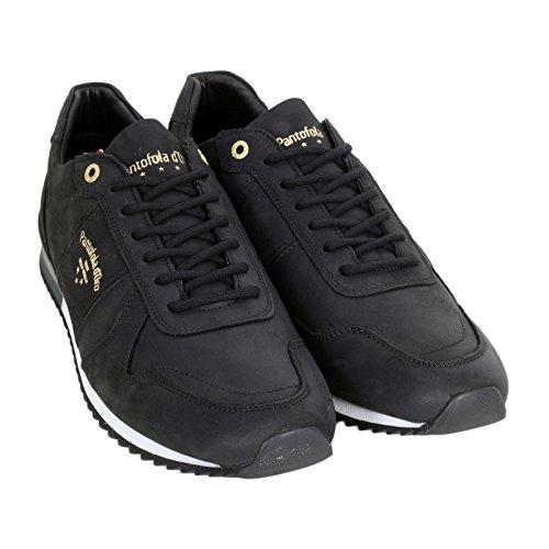 Pantofola d'Oro - Zapatillas de Otra Piel para hombre negro negro