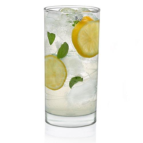 - Libbey Cut Cocktails Nebula Tumbler Glasses, Set of 8