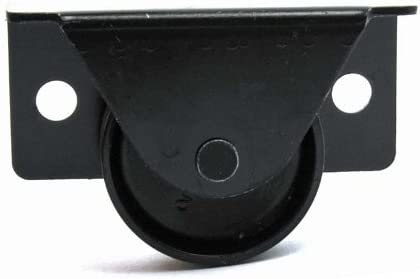 """Set of 4 1 5//8/"""" High Bed Box Casters with Screw On Mounting Plate"""