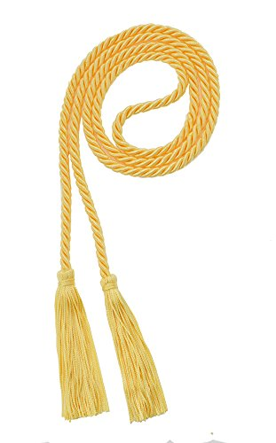 HONOR CORD MAIZE - TASSEL DEPOT BRAND - MADE IN USA (Maize Color)