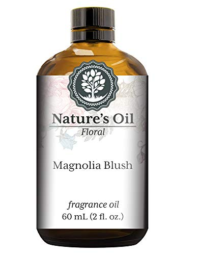 Magnolia Blush Fragrance Oil (60ml) For Diffusers, Soap Making, Candles, Lotion, Home Scents, Linen Spray, Bath Bombs, Slime