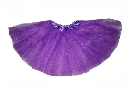 [Big Girl, Teens, Adult Ballet Princess Fairy Dress-Up Tutu (Young at Heart)- PURPLE] (Dance Dress Costumes Studio)
