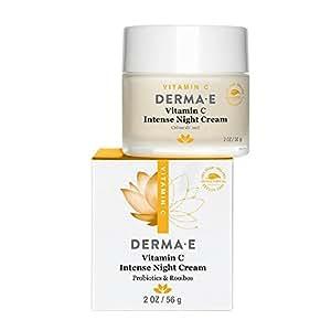 Amazon.com: DERMA E Vitamin C Intense Night Cream 2oz: Beauty