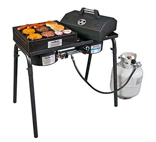 "Blue Flame Kitchen: Camp Chef BB100L Barbecue Box With Lid Fits 14"" Blue Flame"