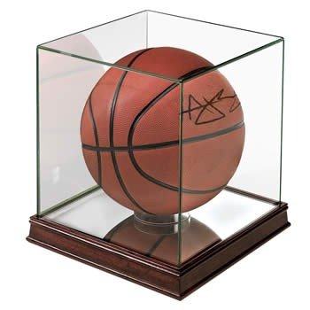 glass basketball display case - 3